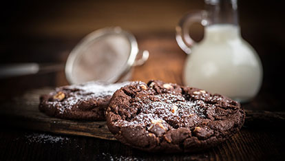Hazelnut-Chocolate Chunk Cookies